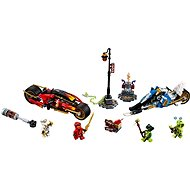 LEGO Ninjago 70667 Kaiova motorka s čepelemi a Zaneův sněžný vůz - LEGO stavebnice