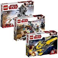 LEGO Star Wars 75177 Těžký průzkumný chodec Prvního řádu + 75214 Anakinův jediský Starfighter + 7520 - Herní set