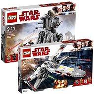 LEGO Star Wars 75218 Stíhačka X-wing Starfighter + LEGO Star Wars 75177 Těžký průzkumný chodec První - Herní set