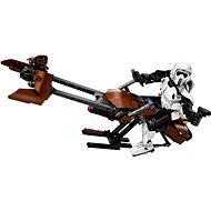 LEGO Constraction Star Wars 75532 Průzkumný voják a speederová motorka - Stavebnice