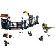 LEGO Jurský Svět 75931 Útok Dilophosaura na hlídku - Stavebnice
