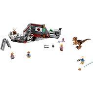 LEGO Jurský Svět 75932 Jurský park: hon na Velociraptora - Stavebnice