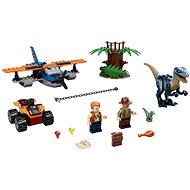 LEGO Jurassic World 75942 Velociraptor: Biplane Rescue Mission - LEGO Building Kit