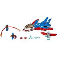 LEGO Super Heroes 76076 Kapitán America a honička ve stíhačce - Stavebnice