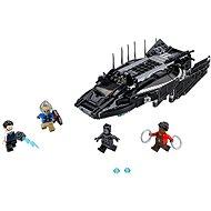 LEGO Super Heroes 76100 Útok stíhačky Černého pantera - Stavebnice