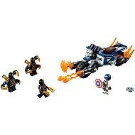 LEGO Super Heroes 76123 Captain America: útok Outriderů - LEGO stavebnice