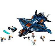 LEGO Super Heroes 76126 Parádní tryskáč Avengerů - Stavebnice