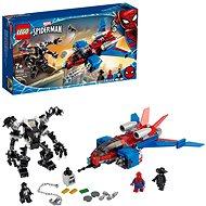 LEGO Super Heroes 76150 Spiderjet vs. Venomův robot - LEGO stavebnice