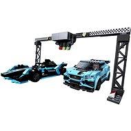 LEGO Speed Champions 76898 Formula E Panasonic Jaguar Racing GEN2 car & Jaguar I-PACE eTROPHY - LEGO stavebnice