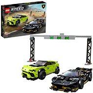 LEGO Speed Champions 76899 Lamborghini Urus ST-X & Lamborghini Huracán Super Trofeo EVO - LEGO stavebnice