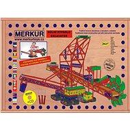 Merkur Maxi rypadlo  - Stavebnice