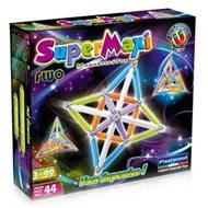 SUPERMAG - SuperMaxi Fluo - Magnetická stavebnice