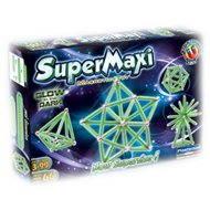 SUPERMAG - SuperMaxi Fluo Gloe - Magnetická stavebnice