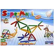 SUPERMAG - SuperMaxi Klasik - Magnetická stavebnice