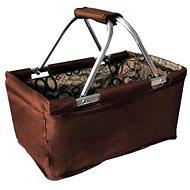 Toro Nákupní košík skládací 29l - hnědý - Nákupní košík
