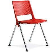 LD Seating GO! červená - Konferenční židle