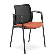 LD Seating Swing černo/oranžová - Konferenční židle