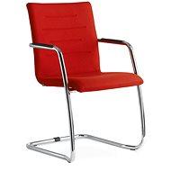 LD Seating Oslo červená - Konferenční židle