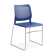 LD Seating Time modrá - Konferenční židle