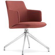 LD Seating Melody Meeting vínová - Konferenční židle