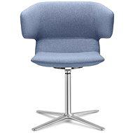 LD Seating Flexi modrá - Konferenční židle