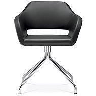 LD Seating Polo+ černá - Konferenční židle