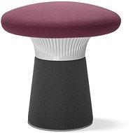 LD Seating Funghi šedo/fialový - Taburet