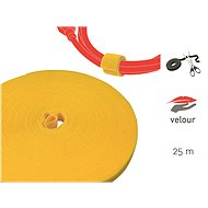 LABEL THE CABLE LTC PRO Roll 1240 Yellow 25m - Organizér kabelů