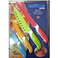 Lowenthal Set nožů s antibakteriální úpravou barevné - Sada nožů