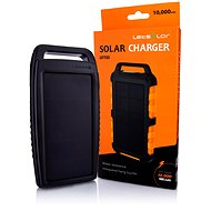 Letsolar LET153 10000mAh black - Powerbanka