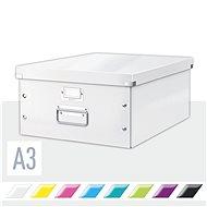 LEITZ Click-N-Store velikost L (A3) - bílá - Archivační krabice