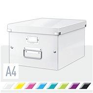 LEITZ Click-N-Store velikost M (A4) - bílá - Archivační krabice