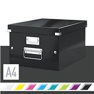 Leitz WOW Click & Store, 20.79 l, černá - Archivační krabice
