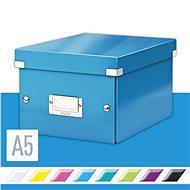 LEITZ Click-N-Store velikost S (A5) - modrá - Archivační krabice
