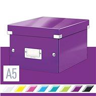 LEITZ Click-N-Store velikost S (A5) - purpurová - Archivační krabice