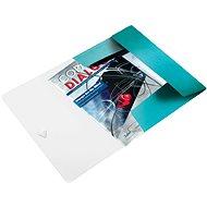 LEITZ Wow 150 listů - ledově modrá - Desky na spisy