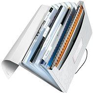 Leitz WOW A4 s přihrádkami bílá - Aktovka na dokumenty
