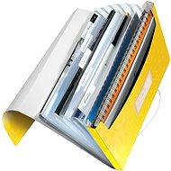 Leitz WOW A4 s přihrádkami žlutá - Aktovka na dokumenty
