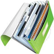 Leitz WOW A4 s přihrádkami zelená