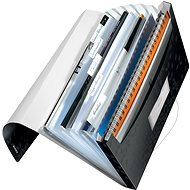 Leitz WOW A4 s přihrádkami černá - Aktovka na dokumenty