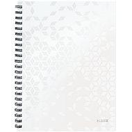 Leitz WOW A4, linkovaný, bílý - Poznámkový blok