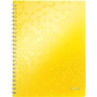 Leitz WOW A4, linkovaný, žlutý - Poznámkový blok