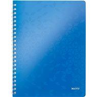Leitz WOW A4, linkovaný, modrý - Poznámkový blok
