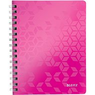 Leitz WOW A5, lined, pink - Notepad
