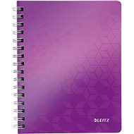 Leitz WOW A5, lined, purple - Notepad