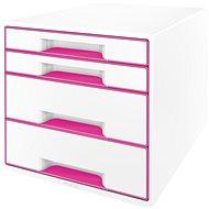 Leitz WOW CUBE růžový - Zásuvkový box
