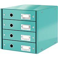 Leitz Click & Store WOW, 4dílný, ledově modrý - Zásuvkový box