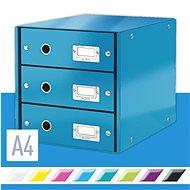 Leitz Click & Store WOW, 3dílný, modrý