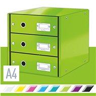 Leitz Click & Store WOW, 3dílný, zelený