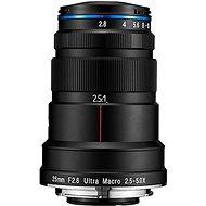 Laowa 25mm f/2,8 2.5-5X Ultra-Macro Canon - Objektiv